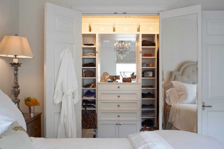 Install built in closets in bedrooms